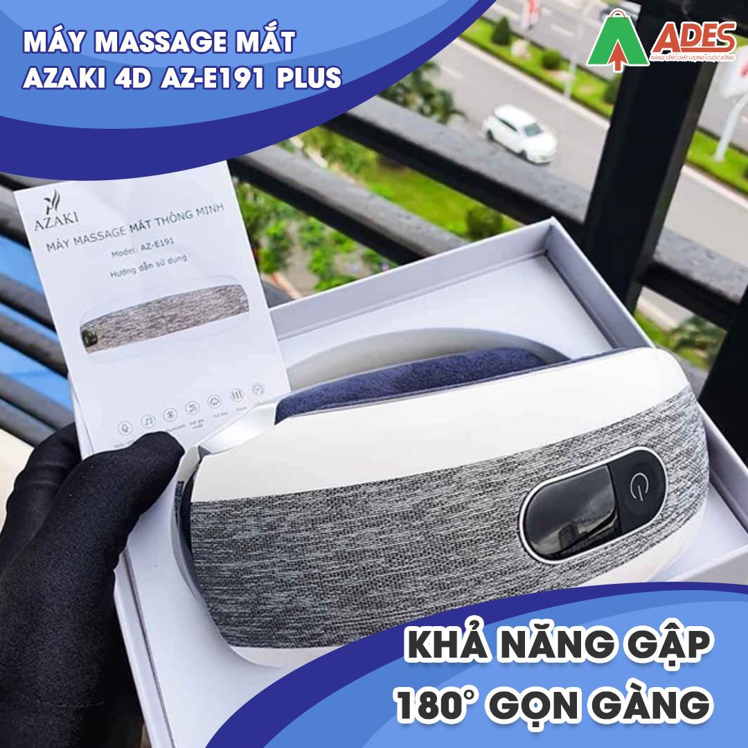 May Massage Azaki 4D AZ E191 Plus nho gon